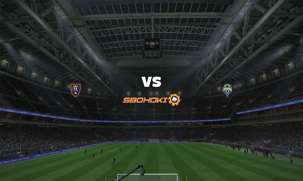 Live Streaming  Real Salt Lake vs Seattle Sounders FC 19 September 2021